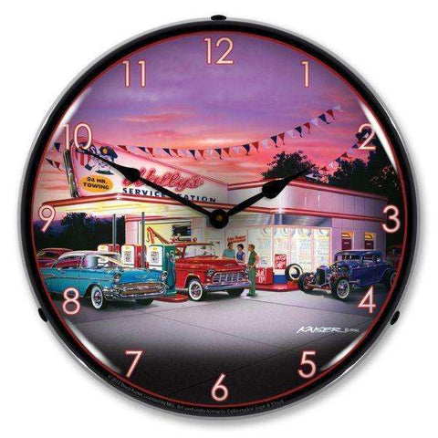 Collectable Sign & Clock WallysCollectable Sign & Clock WallysGarage Systematic