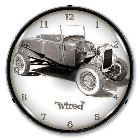 Collectable Sign & Clock WiredCollectable Sign & Clock WiredGarage Systematic