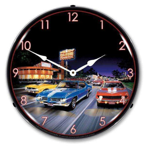 Collectable Sign & Clock Woodward AvenueCollectable Sign & Clock Woodward AvenueGarage Systematic