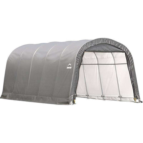 ShelterLogic 62780 Garage In A Box 12×20×8 Round Style Grey CoverShelterLogic 62780 Garage In A Box 12×20×8 Round Style Grey CoverGarage Systematic