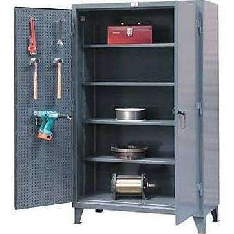 Strong Hold 36-PB-244 Industrial Storage Cabinet with Pegboard DoorsStrong Hold 36-PB-244 Industrial Storage Cabinet with Pegboard DoorsGarage Systematic