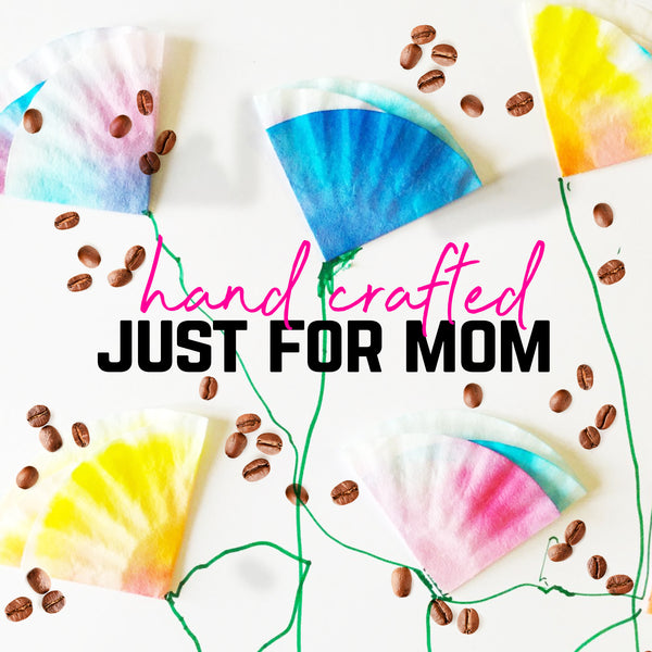 Coffee Filter Flowers, Great For Mother's Day
