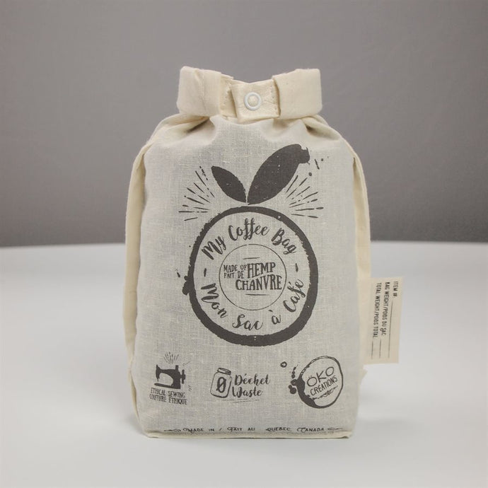 Reusable Hemp Coffee Bag