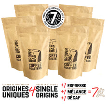 Load image into Gallery viewer, No.7 BBCR sampler bundle | Le no.7 paquet de dégustation de café