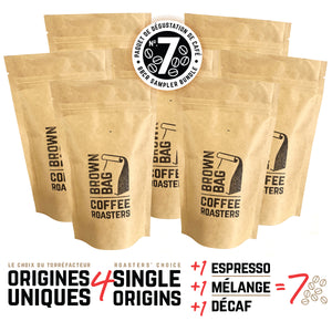No.7 BBCR sampler bundle | Le no.7 paquet de dégustation de café
