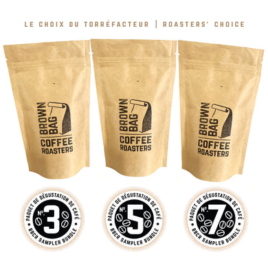 BBCR Sampler Bundle | Paquet de dégustation de café