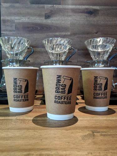 Brown Bag Coffee Cups