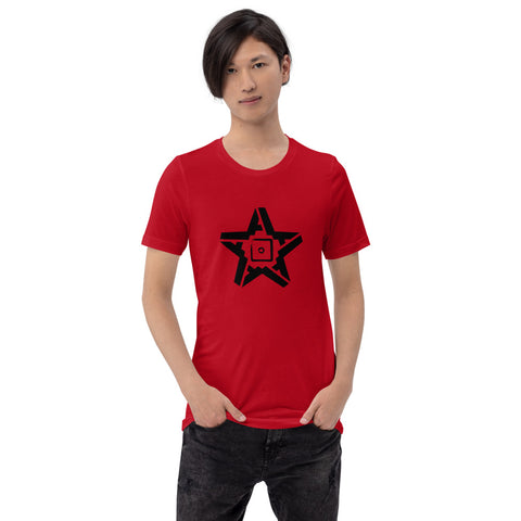 5A Star T-Shirt (Black Star)