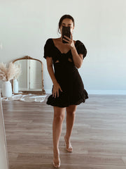 Lost without you black dress
