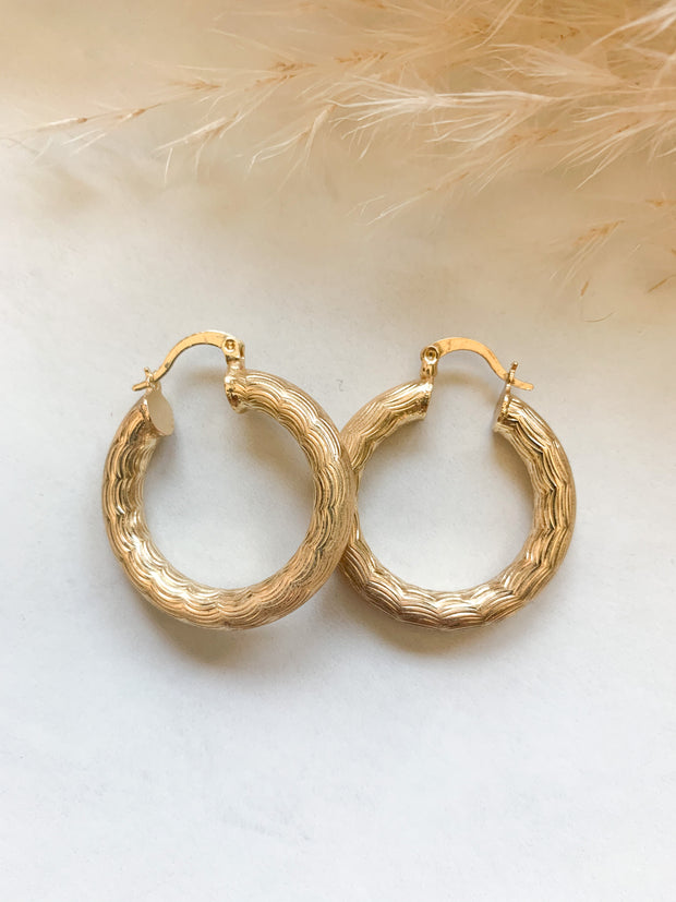 Liza Earrings Luxe