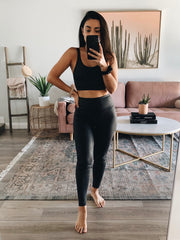 Booked and busy grey activewear