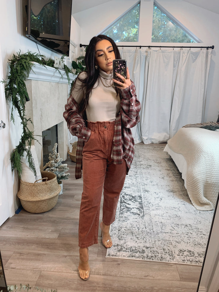 Vivienne pants in Rust