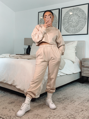 LA Babe Sweatpants Set
