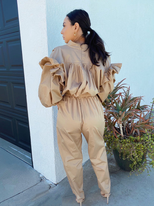 Who's that girl structured jumpsuit