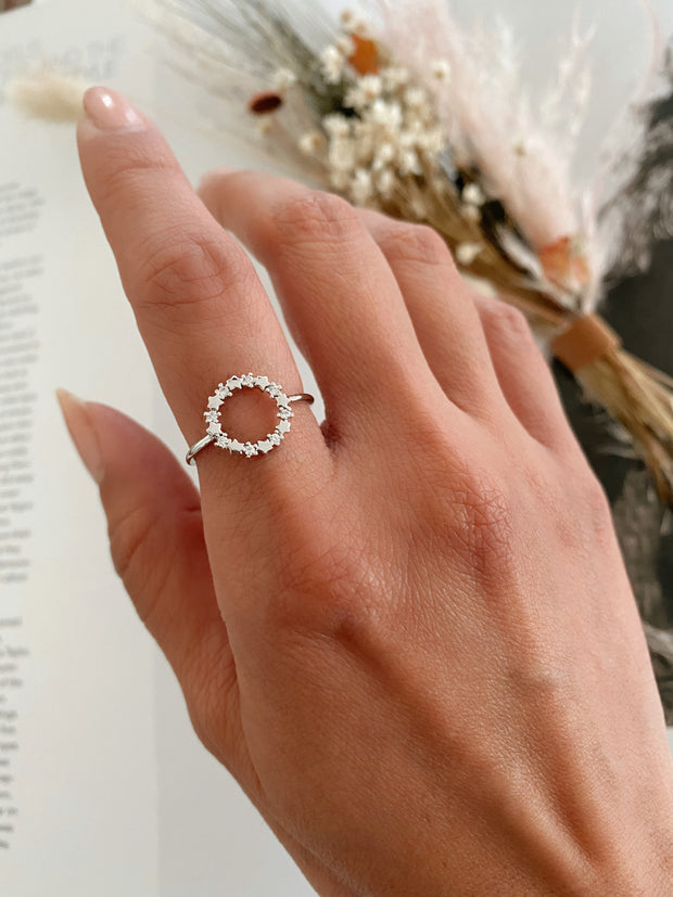 Circle of love ring