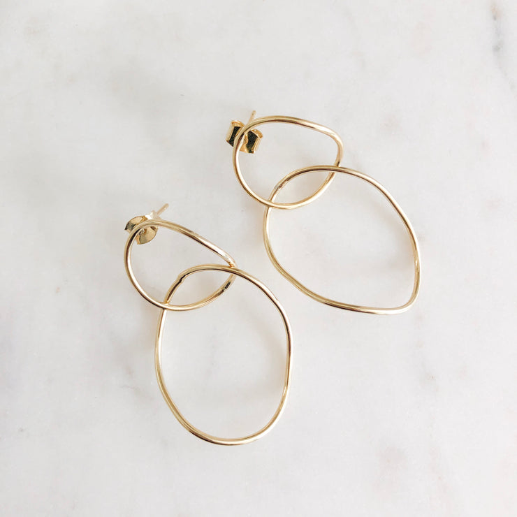 Imperfect earrings