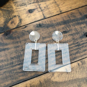 Clear Vision earrings