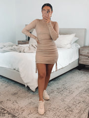 Maliah  long sleeve dress