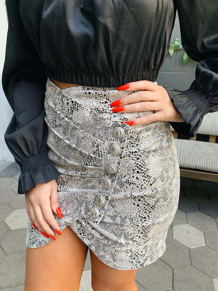 Slither my way skirt