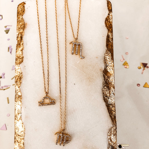 Zodiac Sign Gold LUXE