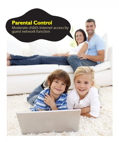 Parental Control or Guest Wi-Fi with Edimax N300 Air Wi-Fi Extender