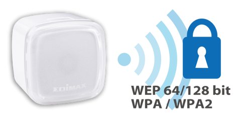 Advanced Wireless Encryption with Edimax N300 Air Wi-Fi Extender