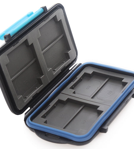 Heavy Duty Anti-Shock Memory Card Case Waterproof