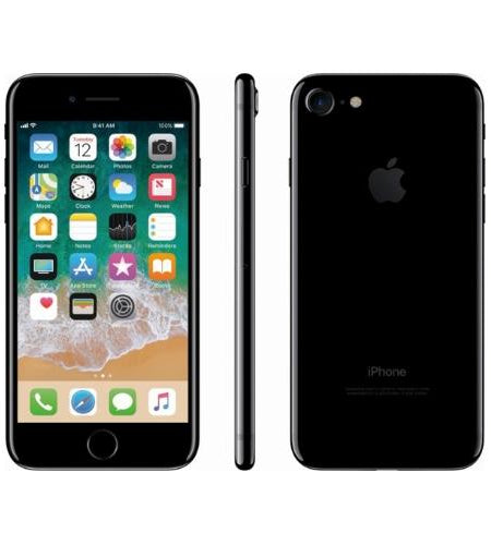 Apple iPhone 7 128GB Black - Pre Owned Grade A, Unlocked