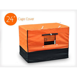 Waterproof Cover for Dog Cage Kennel - M 24""