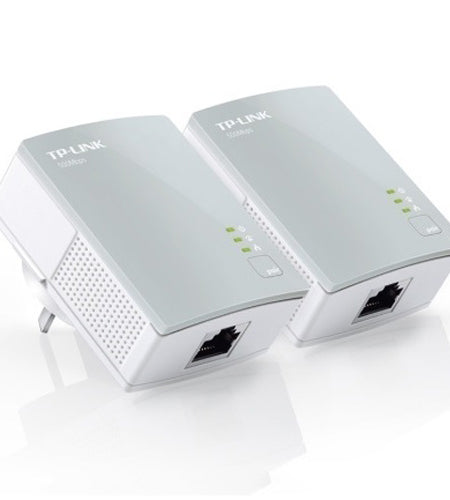 TP-LINK AV500 Mini Powerline Ethernet Adapter Starter Kit with 100Mbps Fast Ethernet