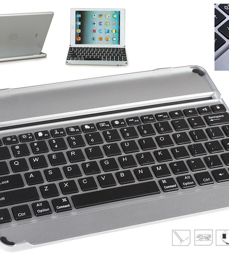 Rechargable Bluetooth Keyboard for iPad air 1/2/3