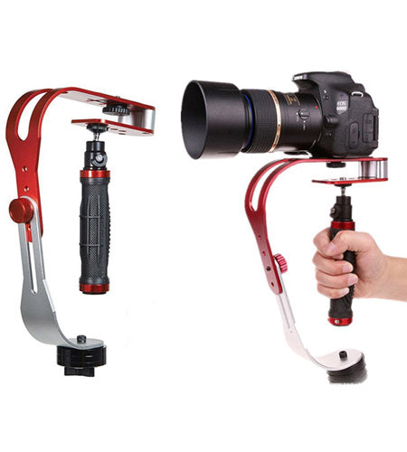DSLR/Action Camera Hand-held Stabiliser with Adjustable Platform