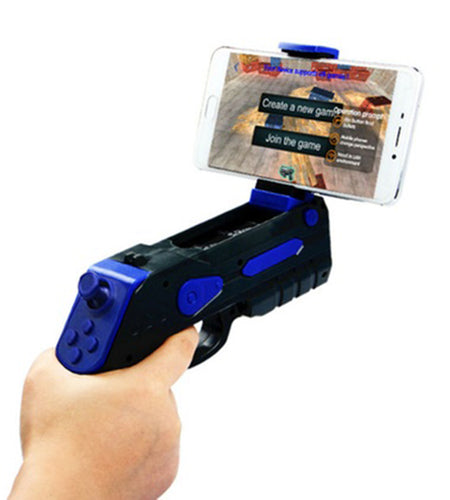 Virtual Reality Smartphone Game Controller Gun