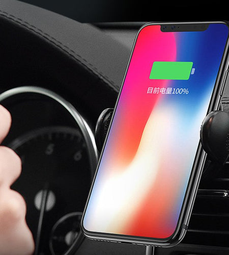 Smartphone Qi Wireless Car Charger