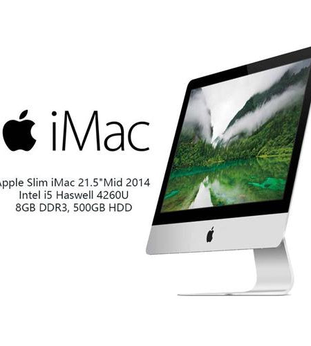 "Apple Slim iMac A1418 21.5"" i5 8GB 500GB HDD All-In-One Desktop PC - Ex Lease Grade A"