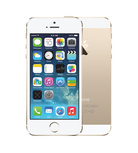 Apple iPhone 5S 16GB Gold Certified Pre Owned Grade A, Unlocked