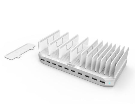 UNITEK 10 Port USB Smart Charging