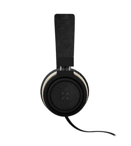 PROMATE Over-Ear Ergonomic Wired Black