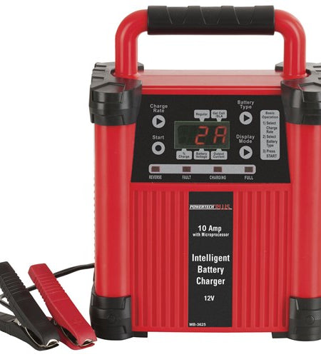 Intelligent 5 Stage Switchmode Battery Charger 12V