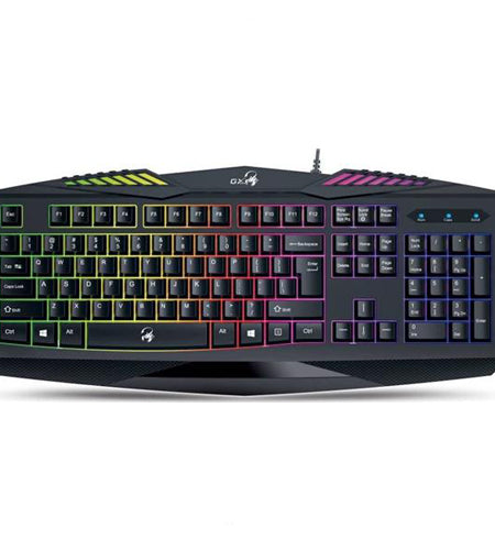 Genius GX Scorpion K220 Illuminated 12 Fn USB Wired Keyboard