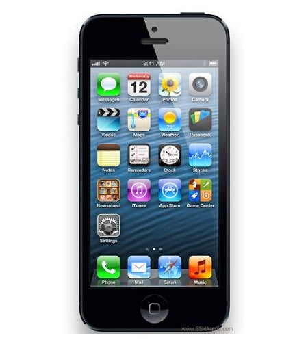 Apple iPhone 5 16GB Black Certified Pre Owned Grade A, Unlocked
