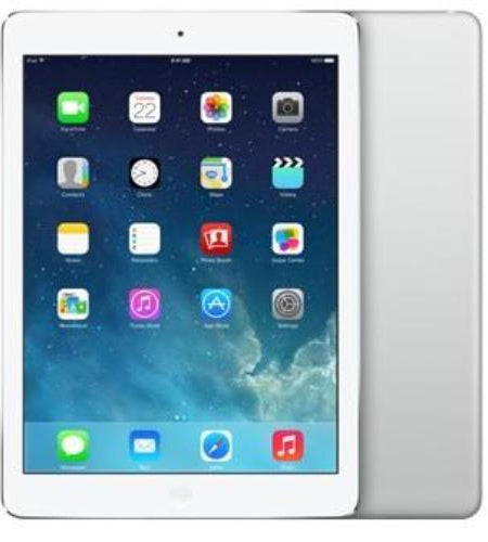 "Apple iPad Air Wi-Fi + Cellular 9.7"" 16GB Silver - Pre Owned Grade A"