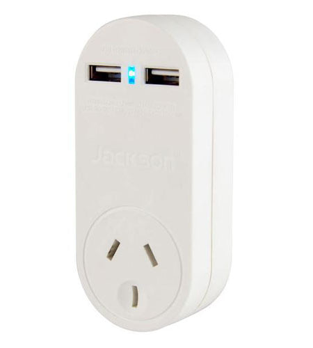 JACKSON Single Plug USB Wall