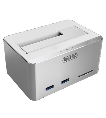 UNITEK USB 3.0 Multifunction HDD Docking Station with USAP