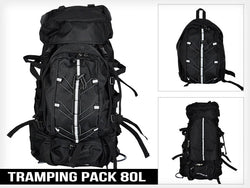 Large 80L Tramping & Travel Backpack