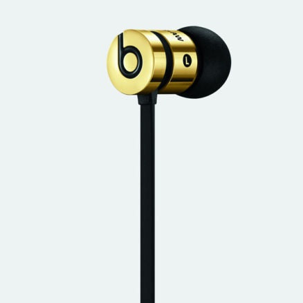 Limited Edition Alexander Wang Gold Urbeats By Dr. Dre In-Ear Headphone