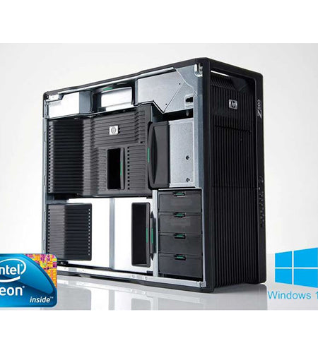 HP Workstation Z800 12GB 1TB & 2TB HDDs Desktop - Ex Lease Grade A