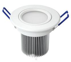 NationStar Dimmable LED Down Light Complete Kit 240V 12W SMD 900Lm CW with 100? Diffuser Matte White