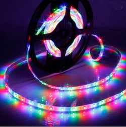 LEDware LED Flex Ribbon Strip Kit 12V 5m RGB LED/m Inc. Power Adapter & Remote