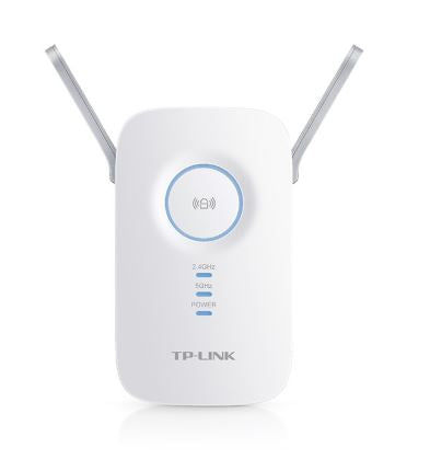 TP-LINK RE350 Gigabit Port AC1200 Wall Plug Wi-Fi Range Extender